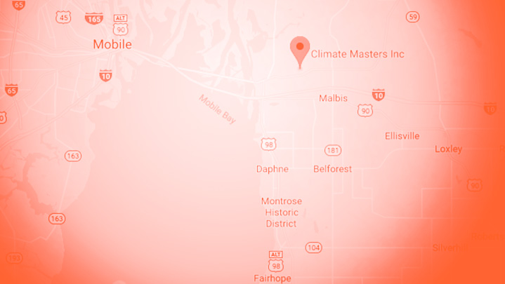 Climate Masters service area with mono orange vignette | Climate Masters INC | AC Repair near me